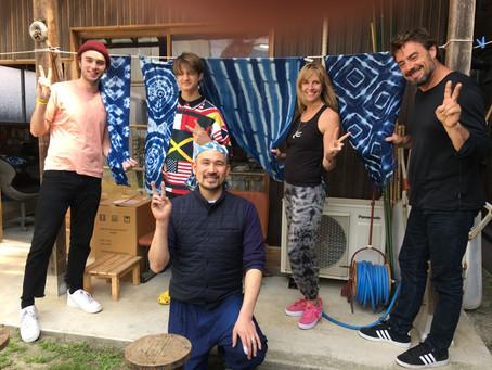 藍染め教室