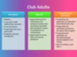 Club Adulte