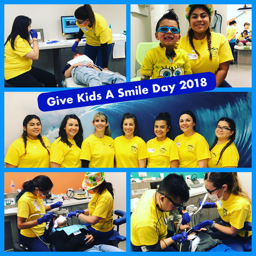 Give Kids A Smile Day 2018