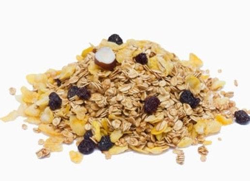 granola, granola a granel, rede nutri, granola tradicional, uva passa, alimentos saudáveis, alimentos naturais
