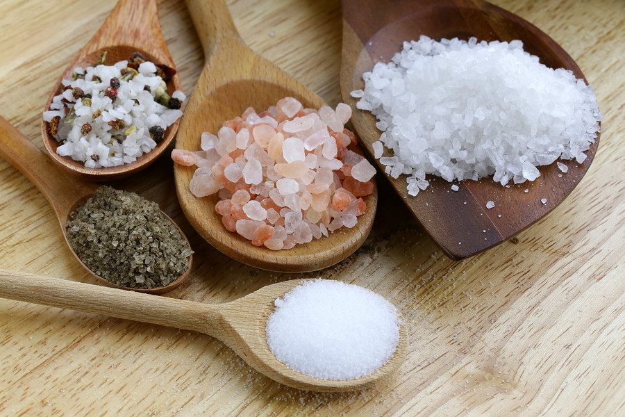 sal, sal rosa, sal himalaia, RedeNutri, saúde, alimentação saudável