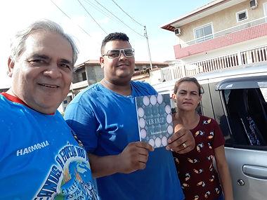 Micael e Marcia(Carr do Ovo) leitores e fãs do Overtrip.