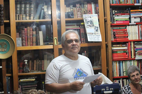Presença CC no Sarau dos Pensadores da Casa do Poeta Brasileiro de Praia Grande-SP.