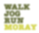 Walk Jog Run Moray logo