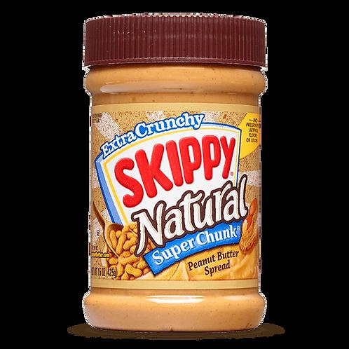 Skippy Natural Super Chunk Peanut Butter Spread