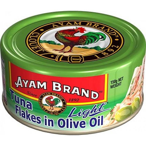Tuna Flakes in Olive Oil (Light) Ayam