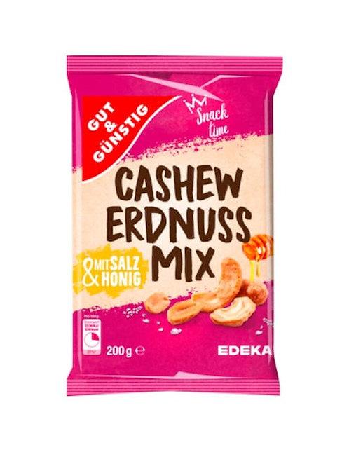 Mixed Peanuts & Cashews with honey and salt Gut & Günstig