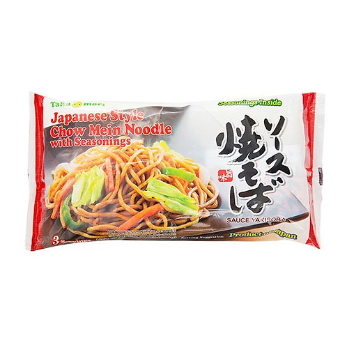 Japanese Style Chow Mein Noodles With Seasoning Taka Mori