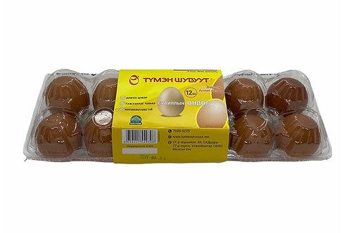 Dozen Packed Eggs (Tumen Shuvuut)