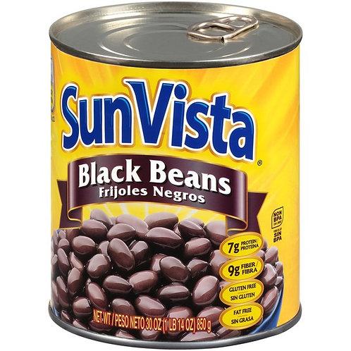 Black Beans Sun Vista Large
