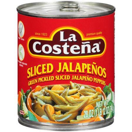 Sliced & Pickled Jalapeños La Costeña