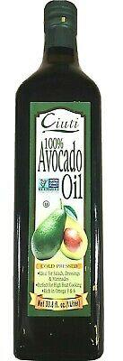 100% Cold Pressed Avocado Oil Ciuti