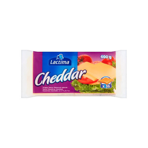 Sliced Cheddar 36-pack Lactima