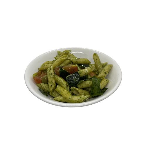 Pesto Penne Pasta Salad with Feta Cheese