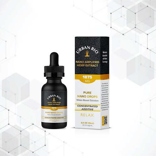 Urban Bio Pure Nano Drops Concentrated Nano Amplified CBD Additive