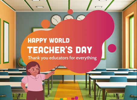 Celebrating the 26th Annual World Teacher's Day with Zachary Anderson