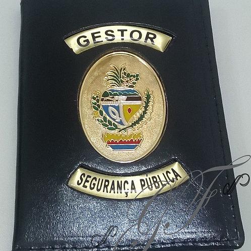 Porta Funcional Brasão de Goiás e Faixas personalizadas