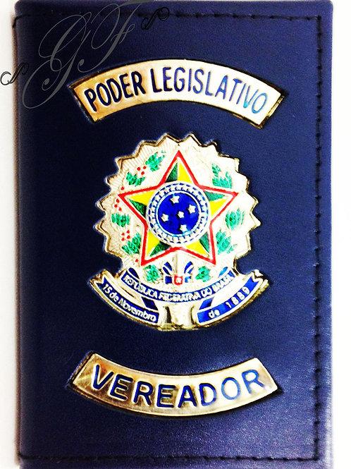 VEREADOR PODER LEGISLATIVO CAPA Porta Funcional COURO