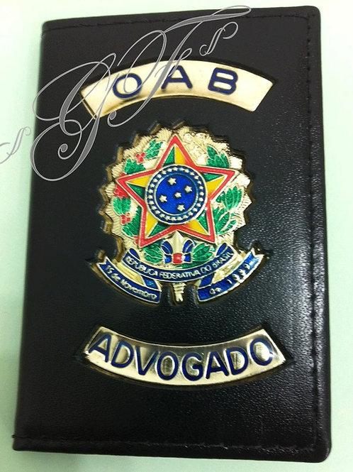 Capa Advogado porta OAB COURO