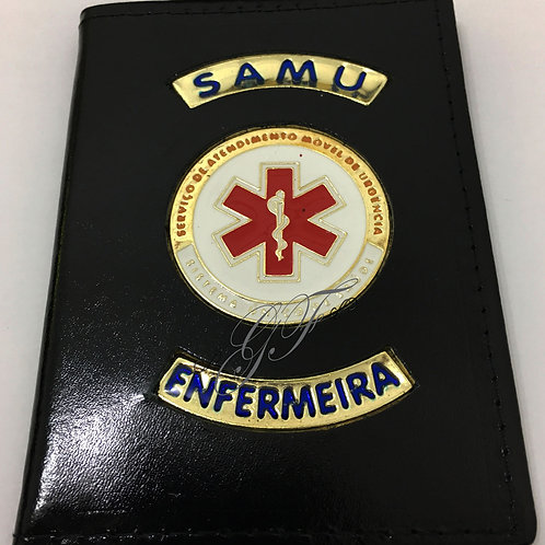 Porta funcional SAMU ENFERMEIRA