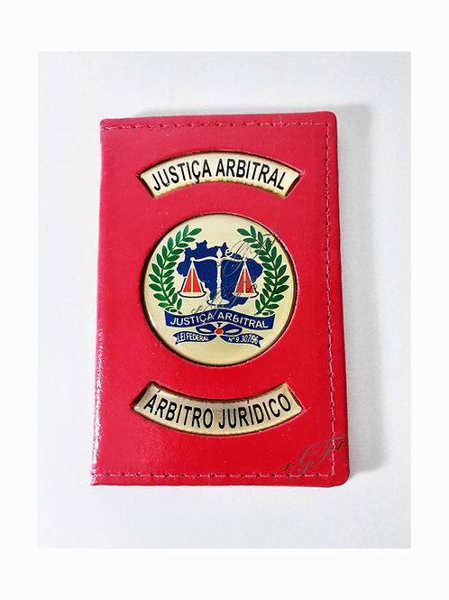 Capa JUSTIÇA ARBITRAL ARBITRO JURÍDICO BRASÃO SÓ FORA