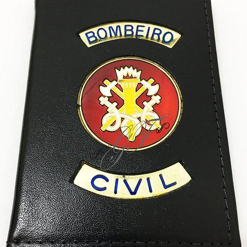 Porta funcional BOMBEIRO CIVIL PRETA
