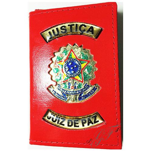 Capa JUIZ DE PAZ JUSTIÇA COURO