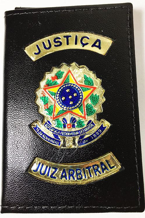 Capa JUIZ ARBITRAL COURO