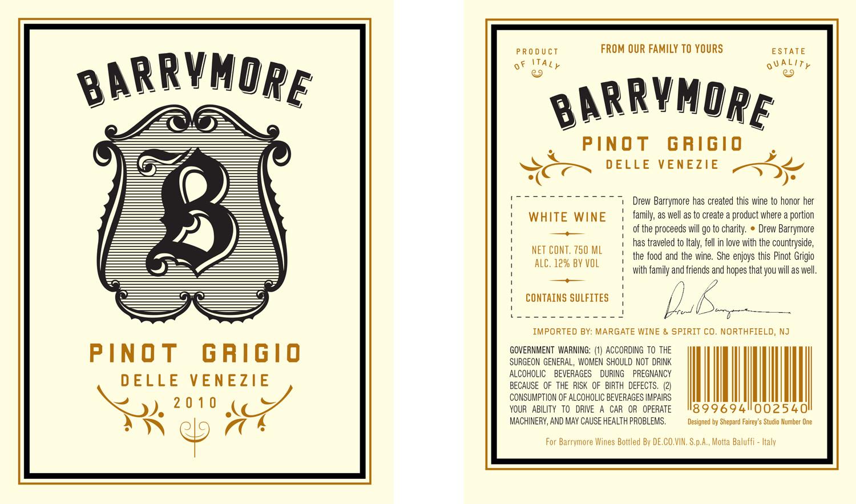 BARRYMORE WINE