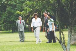 Piero y Carlos Príncipe de Gales