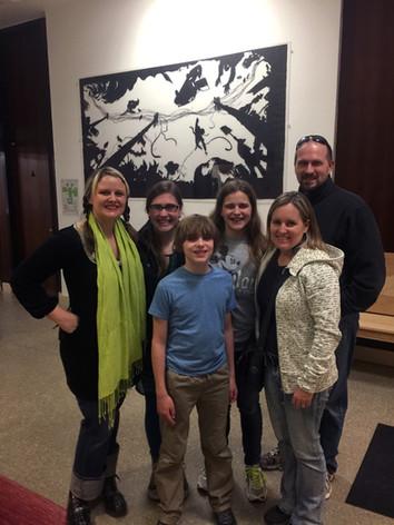 Nebraska visits CalArts