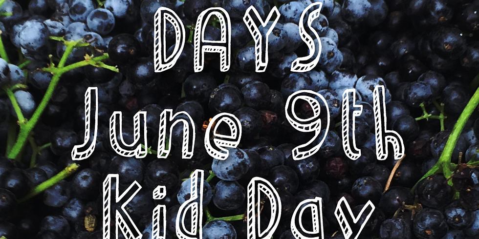Elderberry Days June 9th