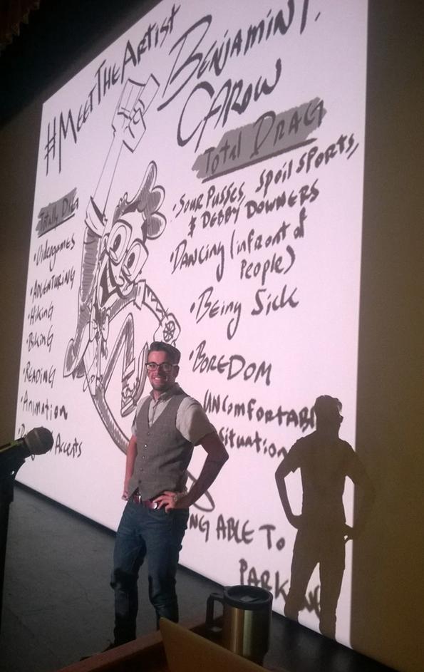 2015 - Cartoon Network talk