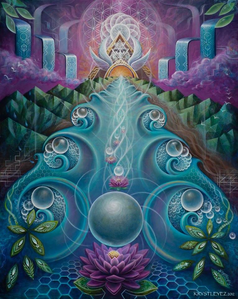 """Art: """"Flowing As One"""" by Krystleyez"""