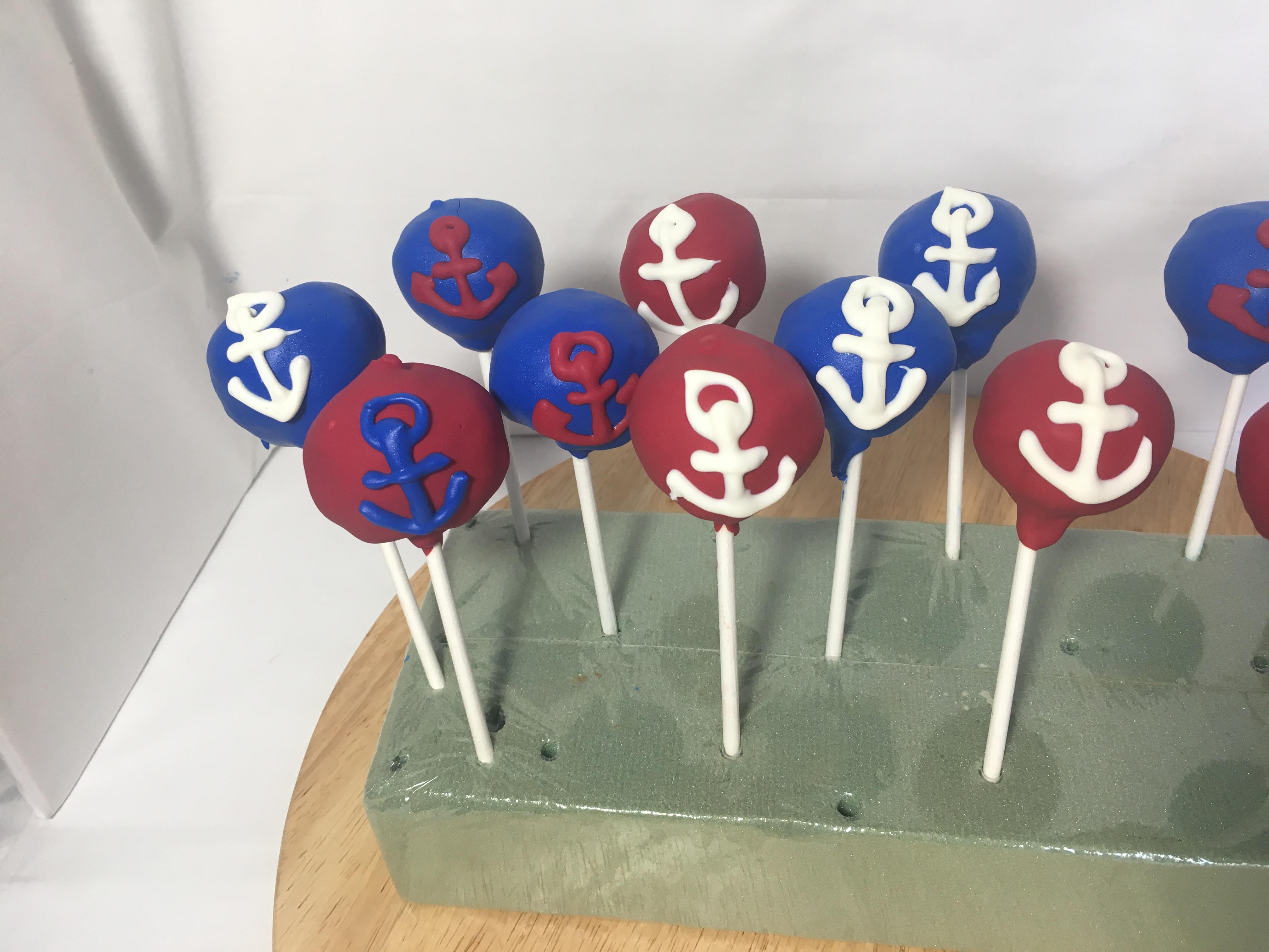 Sailor Cake Pops