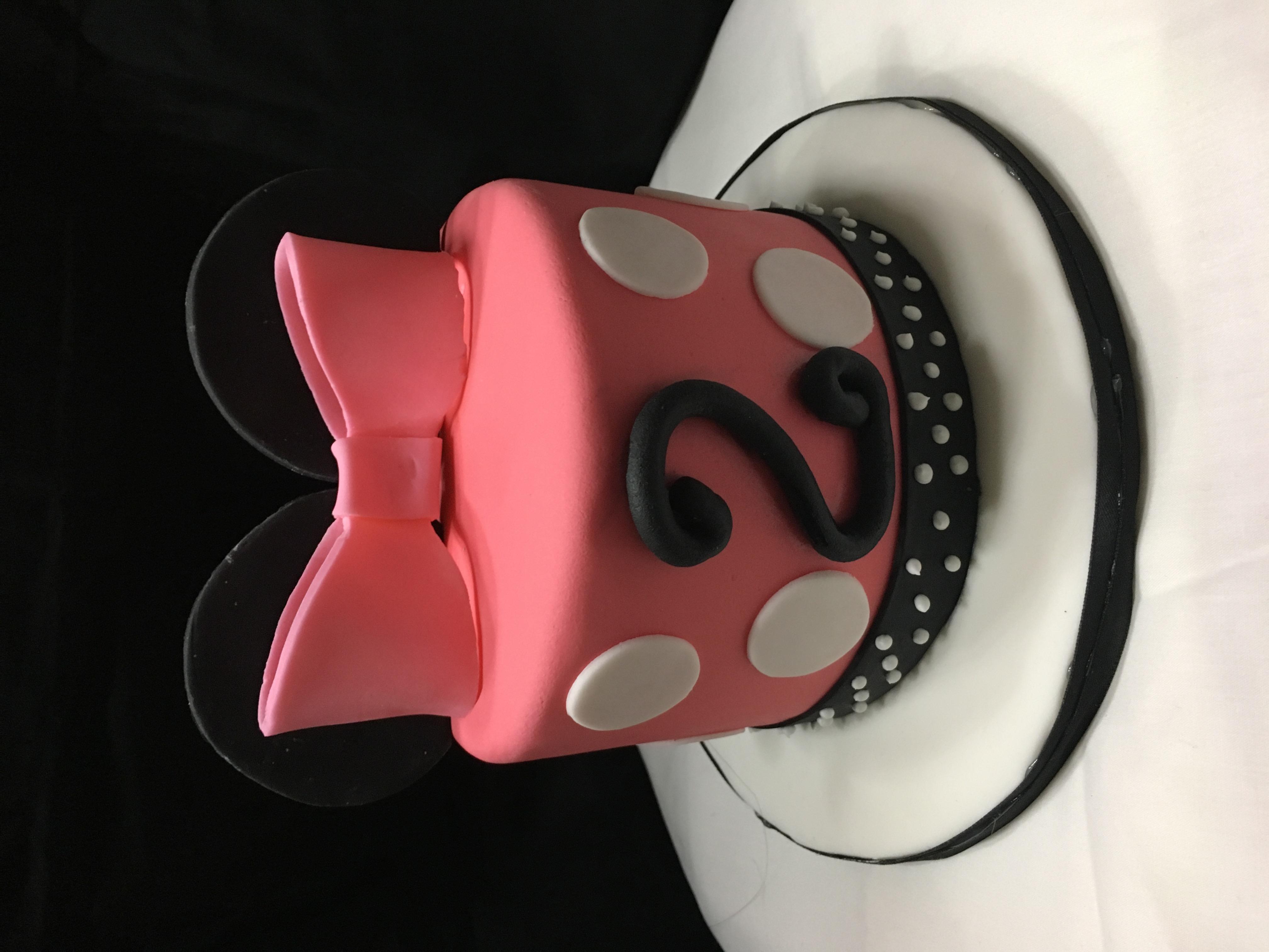 Minnie Mouse Mini Cake