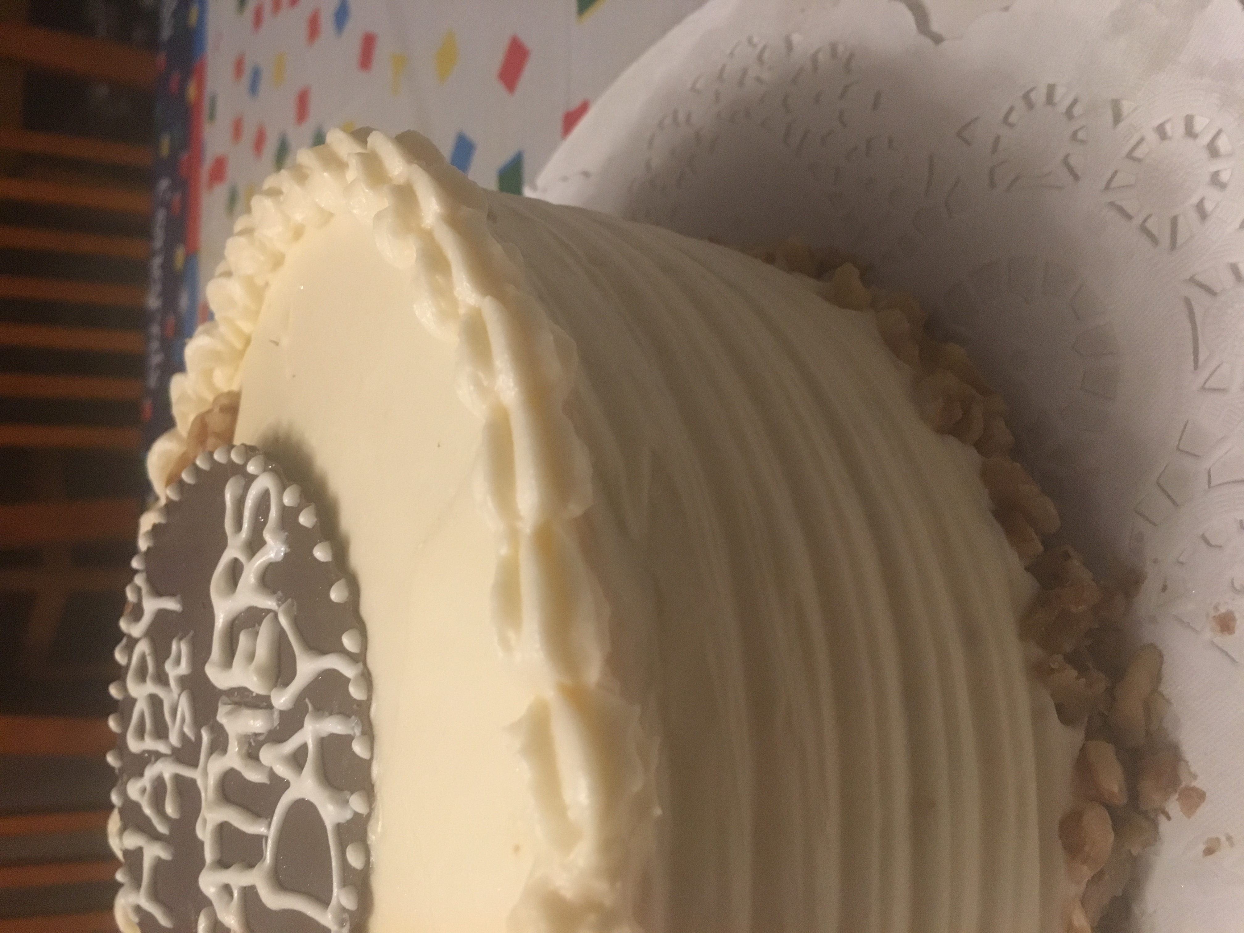 Father's Day Carrot Cake
