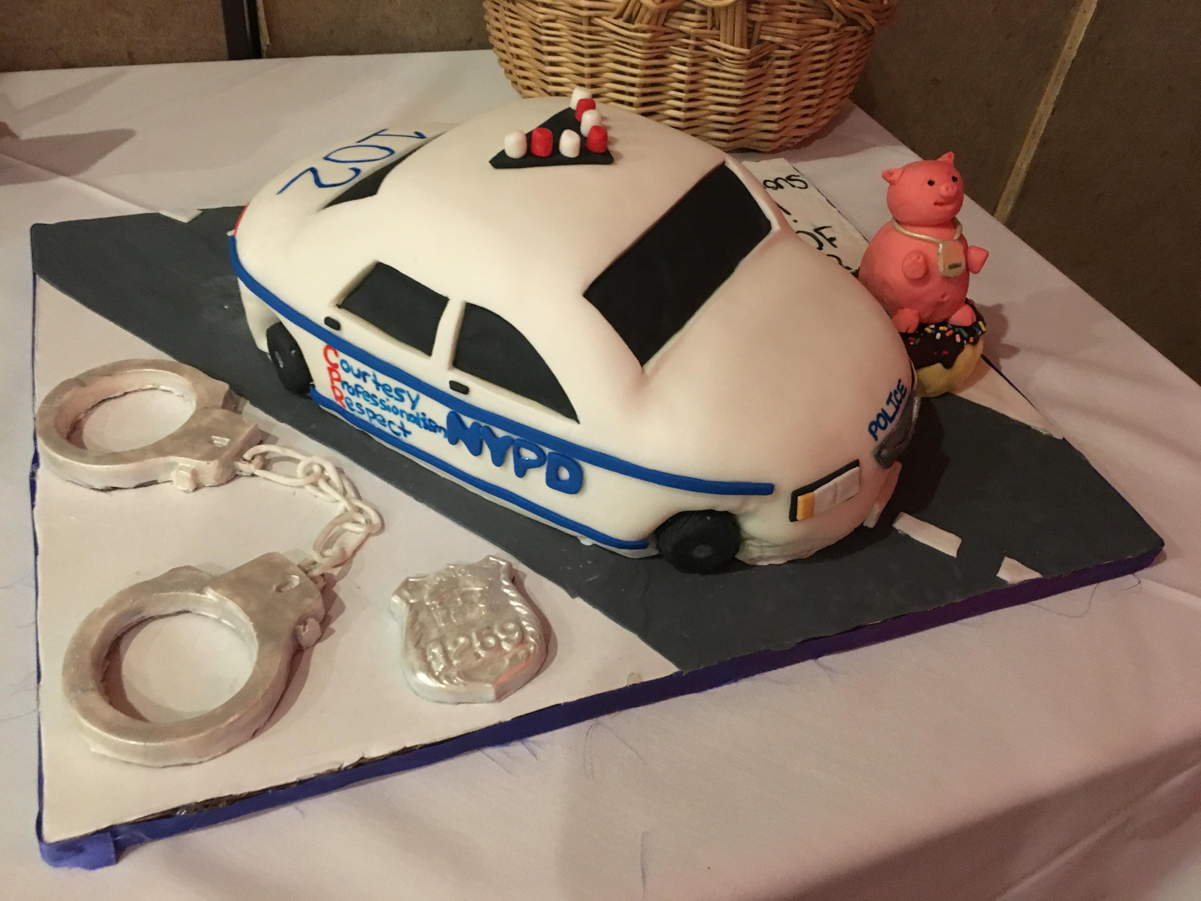 Police Academy Graduation Car