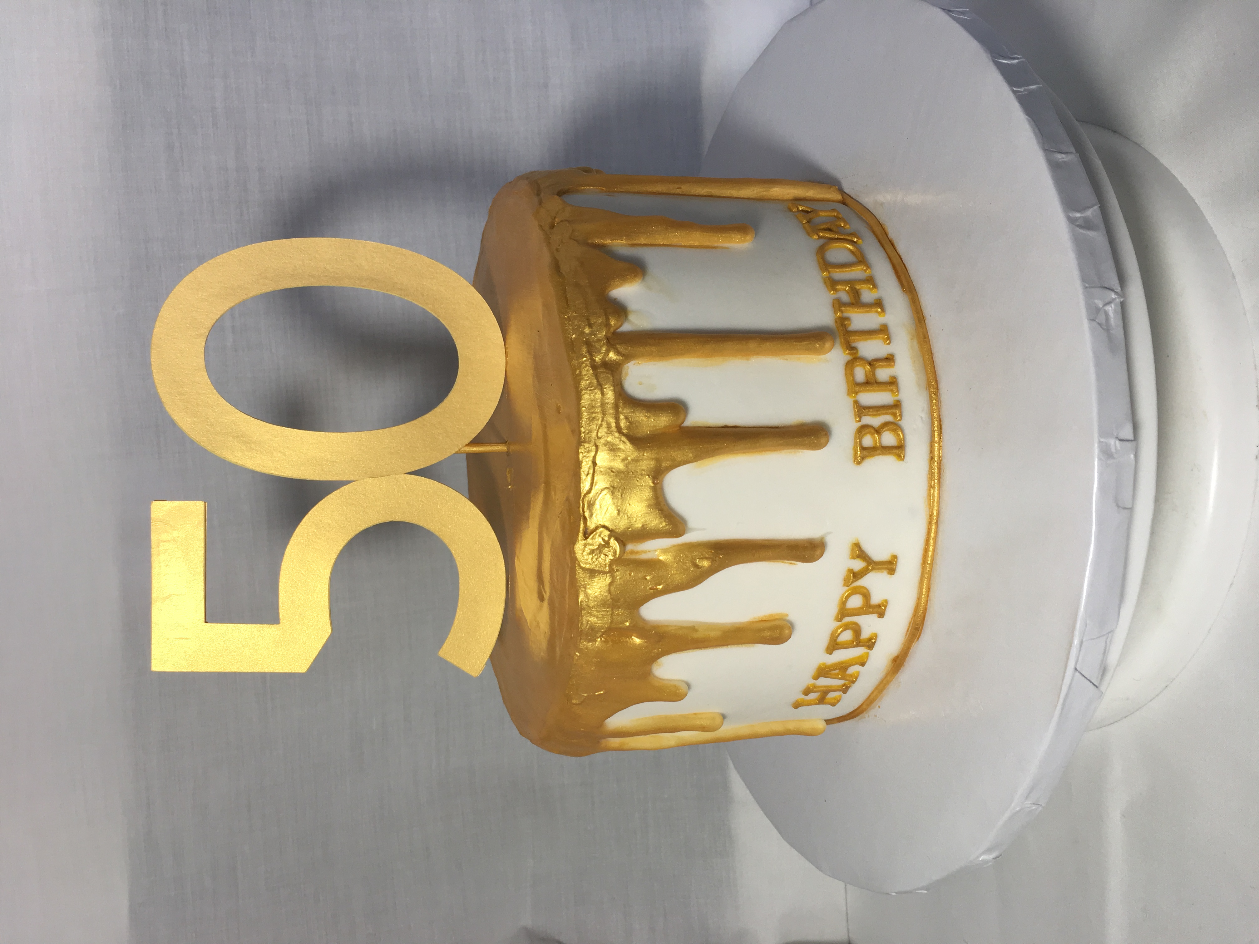 Gold Drip Birthday