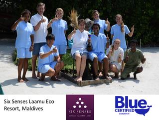 Six Senses Laamu Eco Resort joins Blue Certified
