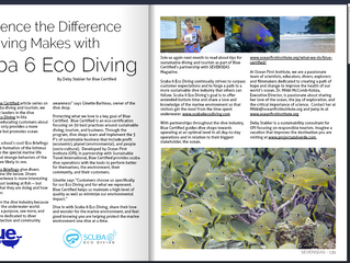 SEVENSEAS Article: Experience the Difference Eco Diving Makes with Scuba 6 Eco Diving