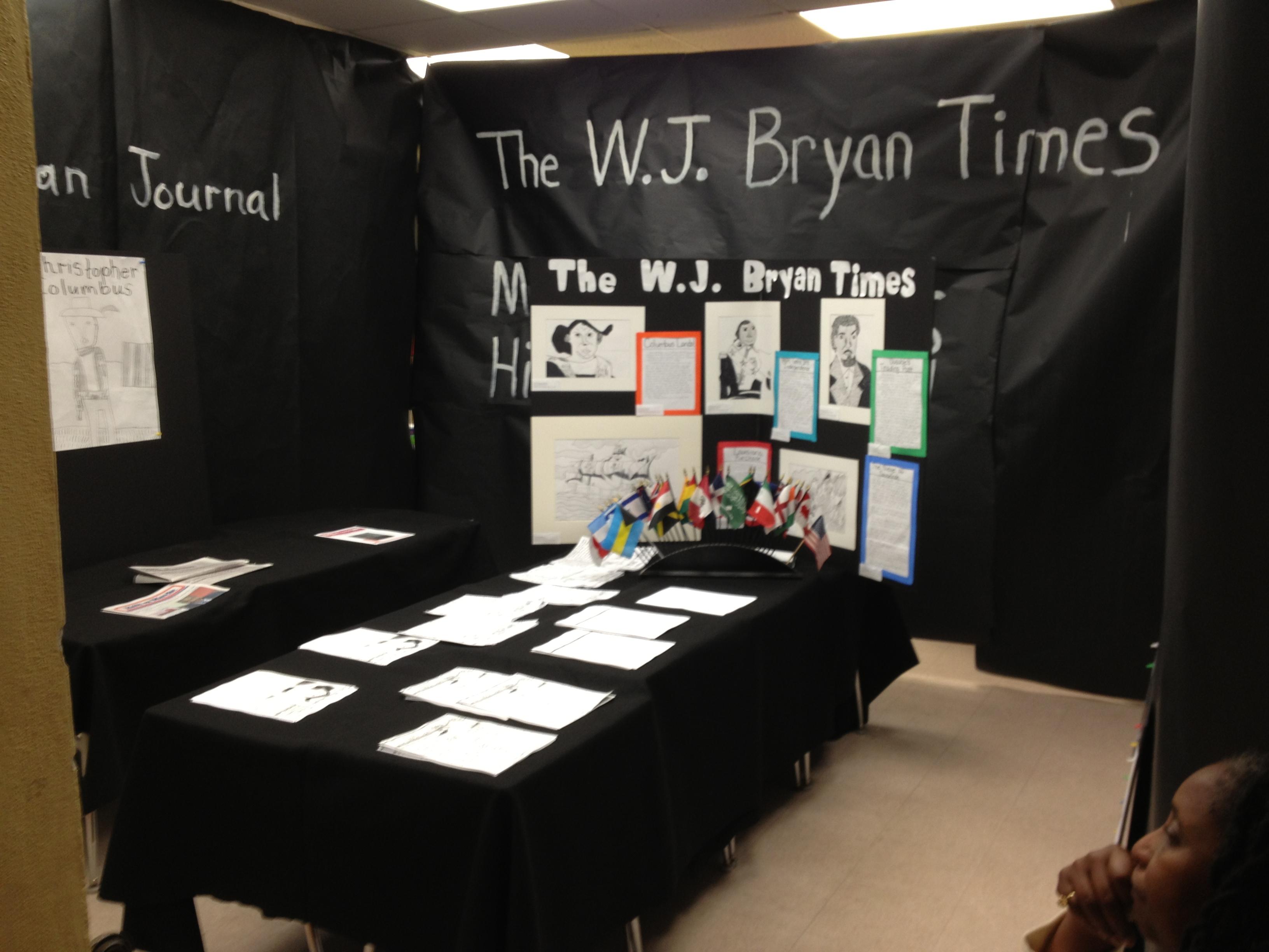 SSN Newspaper Project  - WJB Display