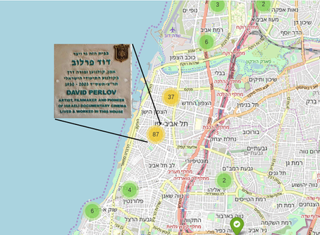 Tel Aviv artists: build yourself a mapping app