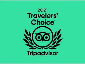 Les  Jardins récompensés par un prix Travelers' Choice