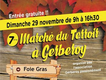 Le prochain marché du terroir de Gerberoy approche !