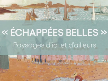 """Ouverture de l'exposition """"Echappées belles"""" au Mudo"""