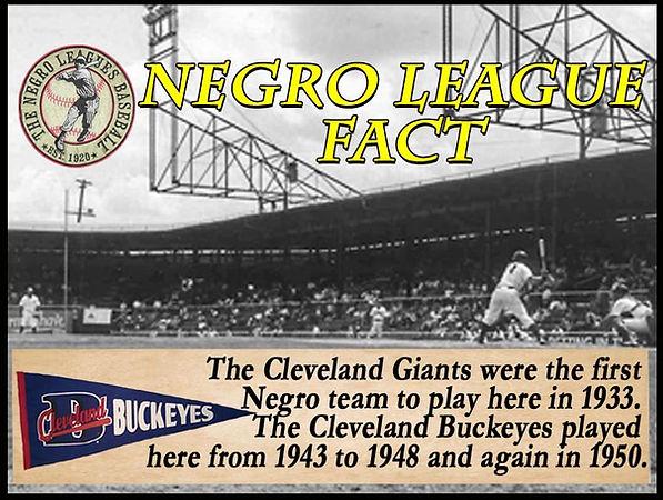 BB Negro League Fact Cleveland Municipal