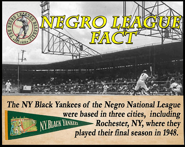 BB Negro League Fact Rochester Red Wing