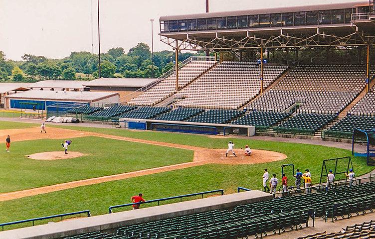 Cooper Stadium, Columbus, OH