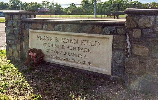 Frank Mann Field, Alexandria VA